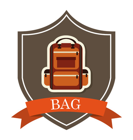 esploratori: camping disegno su sfondo bianco illustrazione vettoriale