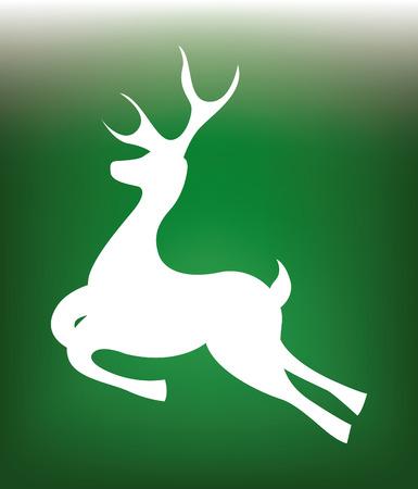 chunk: forest design over green background vector illustration Illustration