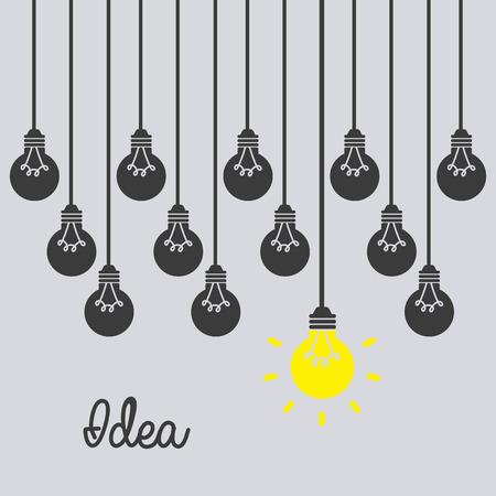think design over gray background vector illustration
