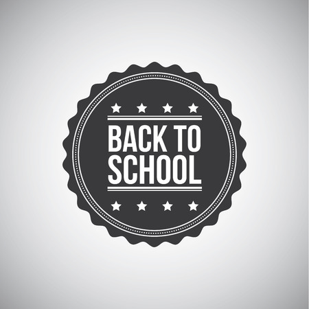 Back to school label