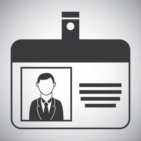 Ressources humaines sur fond gris illustration vectorielle Banque d'images - 31704908