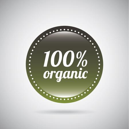 organic graphic design. Vector illustration.  Vector