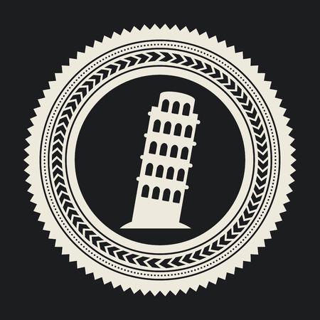 travel design over black background vector illustration Vector
