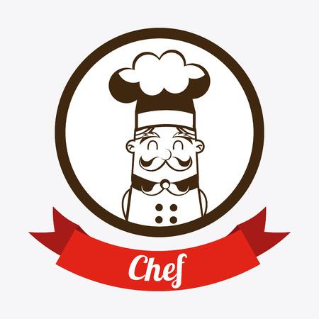 nutritive: food design over white background vector illustration