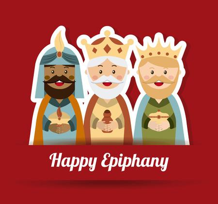 king: christmas graphic design ,vector illustration