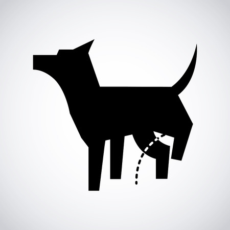 dog design icon ,vector illustration Illustration
