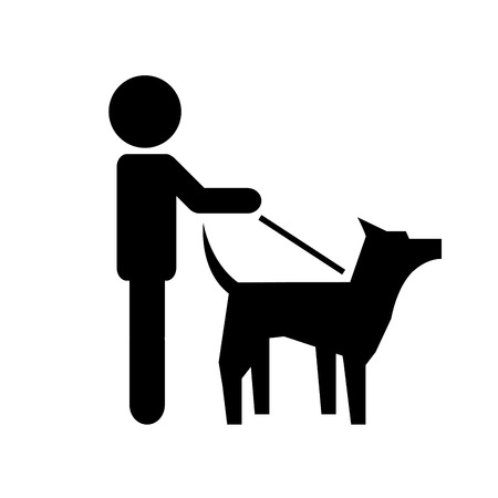 dog design icon ,vector illustration Vector