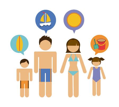 family graphic design , vector illustration  Vector