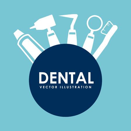dentist symbol: dental care design , vector illustration