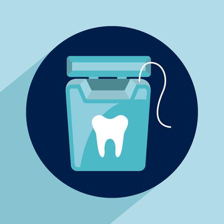 dental healthcare: dise�o cuidado dental, ilustraci�n vectorial