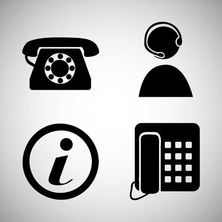 communication graphic design , vector illustration