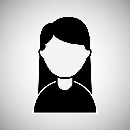 unnamed: woman graphic design  Illustration