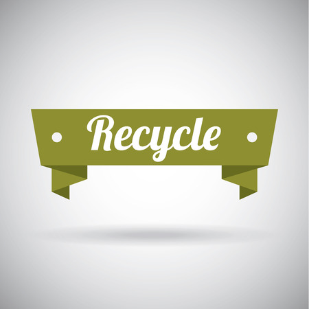 compost: recycle label design ,vector illustration