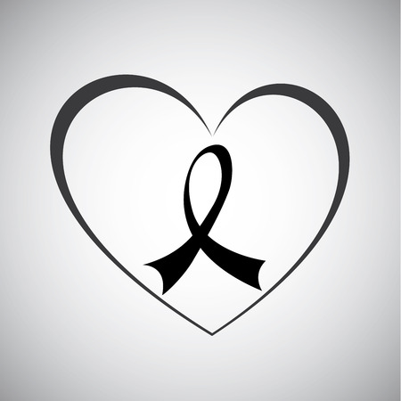medical fight: awareness ribbon design , vector illustration