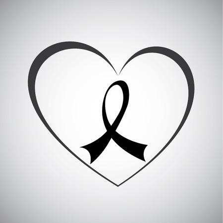 awareness ribbon design , vector illustration