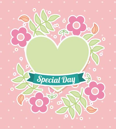 ribon: special day graphic design , vector illustration