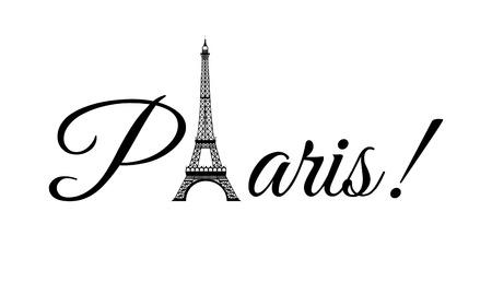 paris graphic design , vector illustration Vector