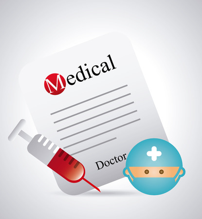 medical graphic design , vector illustration Vector