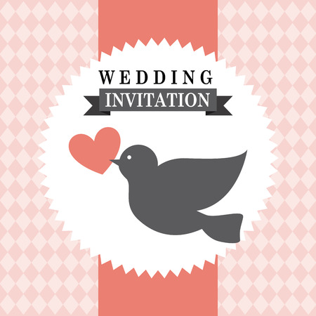 wedding graphic design , vector illustration Vector