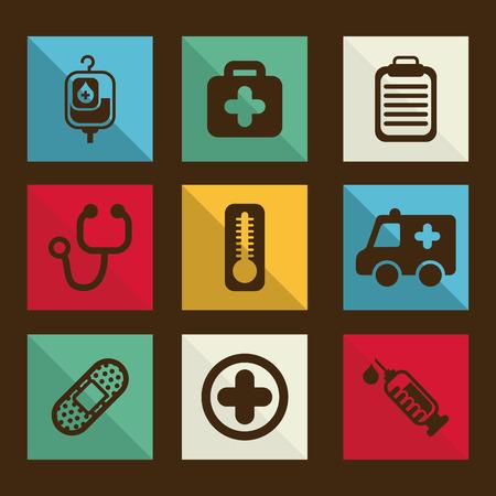 medical graphic design , vector illustration Vector