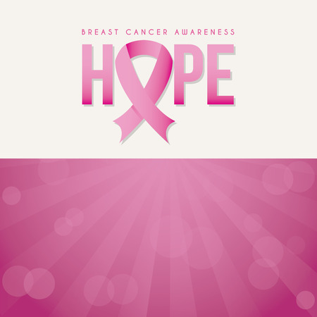 breast cancer graphic design , vector illustration Illustration