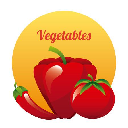 vegetal: vegetal graphic design , vector illustration Illustration