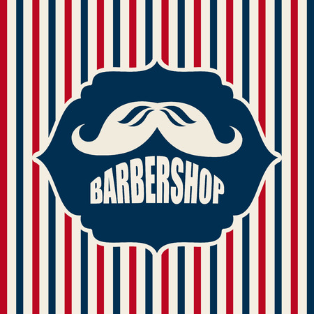 barber shop graphic design , vector illustration Vector