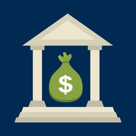 bank statement: banking graphic design , vector illustration Illustration