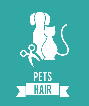 pet graphic design , vector illustration Vector