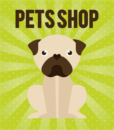 pet graphic design , vector illustration Vector