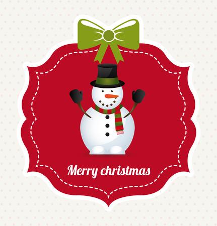 adornos navideños: diseño gráfico de la navidad, ilustración vectorial Vectores