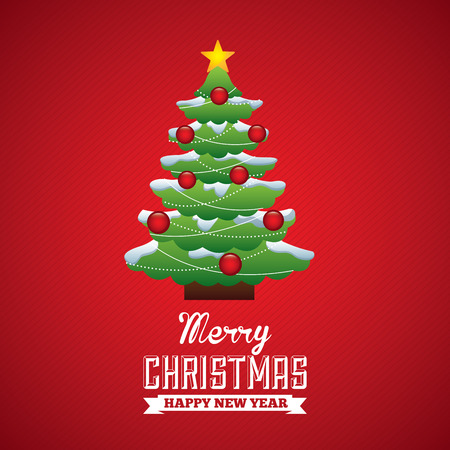christmas graphic design , vector illustration Vector