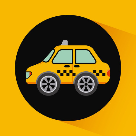 taxi graphic design , vector illustration Vector