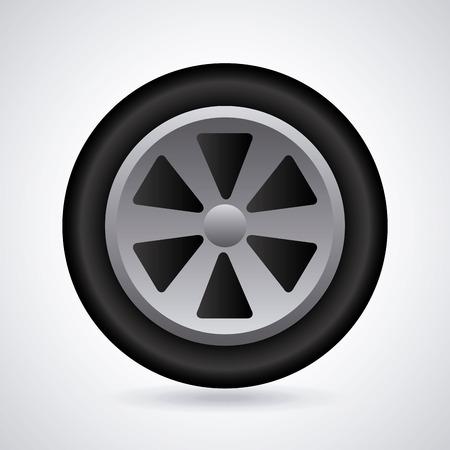 ring road: wheel graphic design , vector illustration