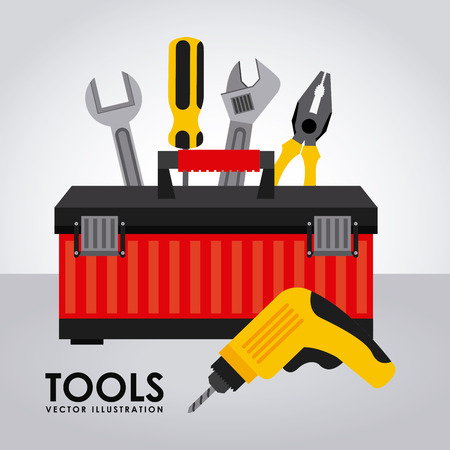 web tools: tools graphic design , vector illustration