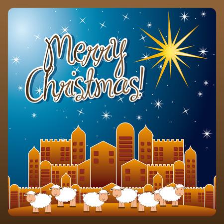 Diseño gráfico de la navidad, ilustración vectorial Foto de archivo - 32083687