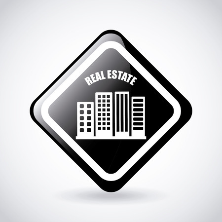 real state: real state graphic design , vector illustration Illustration