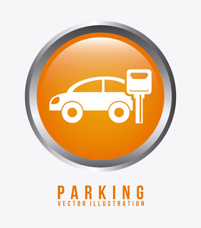 parking graphic design , vector illustration Vector