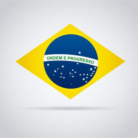 brazil graphic design , vector illustration Vector