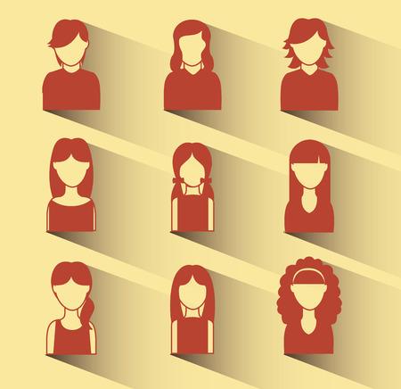 social network graphic design , vector illustration Vector