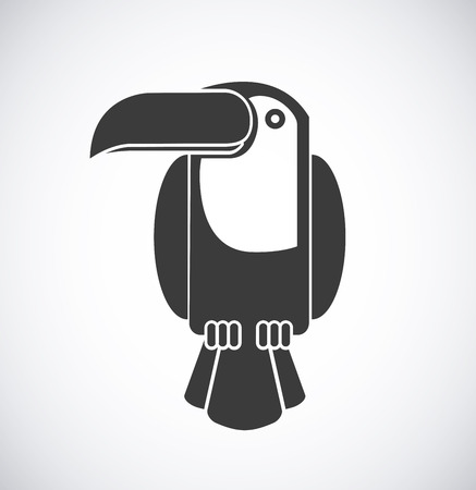 tucan: toucan graphic design , vector illustration Illustration