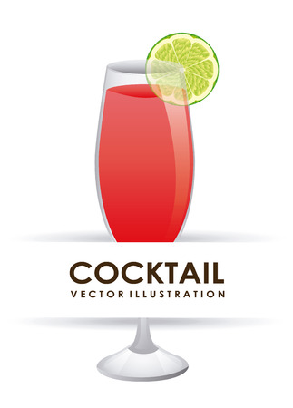 cocktail graphic design , vector illustration Vector