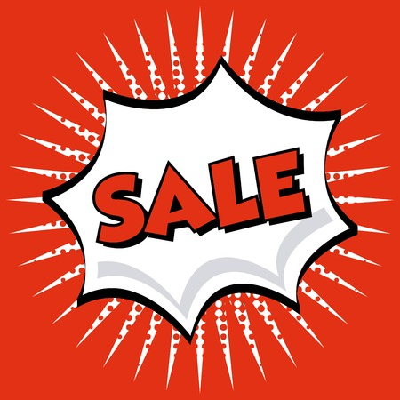 bomb price: sale graphic design , vector illustration Illustration