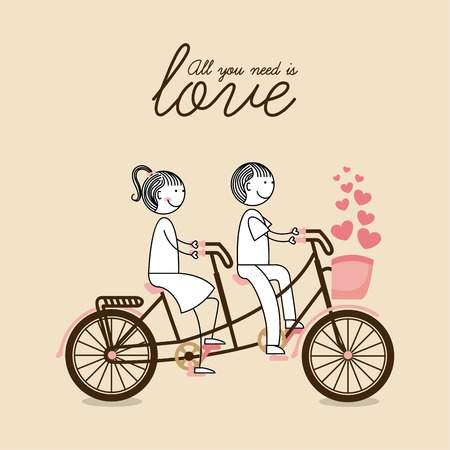 bicycle graphic design , vector illustration Vector
