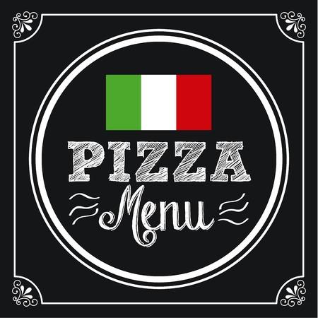 pizza graphic design , vector illustration Vector