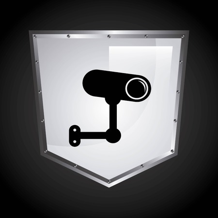 security shield graphic design , vector illustration Illustration