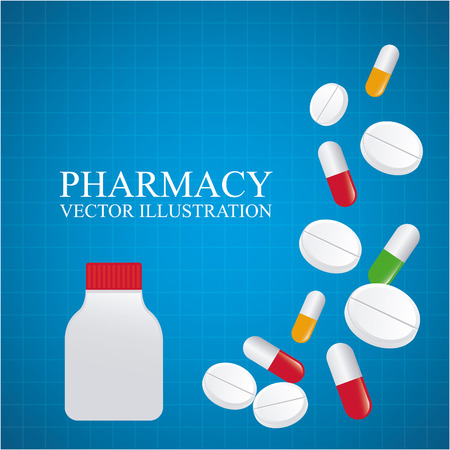 pharmacy graphic design , vector illustration Vector
