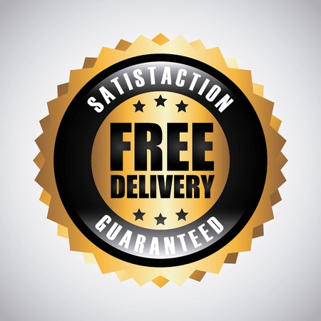 free delivery graphic design , vector illustration
