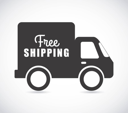 free delivery graphic design , vector illustration Vector