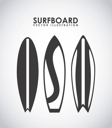 surfing zone graphic design , vector illustration Vector